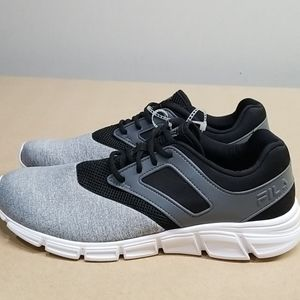 New Fila Black and Grey Men's Running Shoes